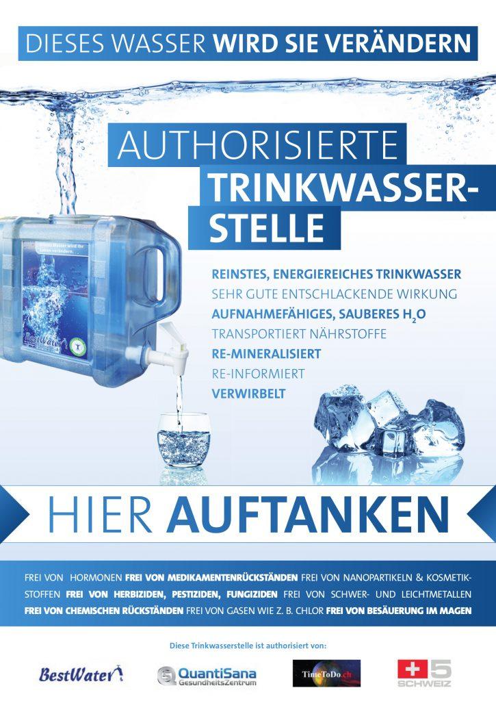 Wassertankstelle TCM Praxis Erlinsbach